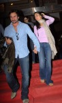 Saif Ali Khan & Kareena Kapoor at 'The International' premiere at Cinemax.