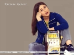 Kareena Kapoor Wallpaper Blue Jacket